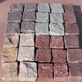 حجر رمليّ طبيعيّ زاهية [بف ستون]
