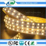 Luz de tira decorativa del rojo LED del uso de interior/al aire libre de la venta caliente