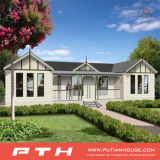 健康なデザインおよび速い構築されたプレハブの軽い鋼鉄別荘