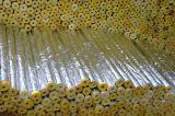 Cubierta del tubo hecha de las lanas de roca