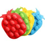 Nahrungsmittelgrad-Frucht-Form-Non-Stick Eis-Würfel-Tellersegment