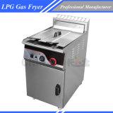 тип коммерчески Fryer пола большой емкости 46L газа