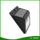 IP65 LED Solar Yard Wall Lights Sensor de som Spot Light