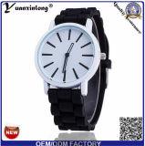 Yxl-817 het in het groot Goedkope Horloge van het Kwarts van de Gift van Genève van het Silicone keurt Paypal goed