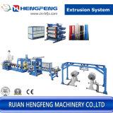 Ligne d'extrusion de feuille de pp de la capacité 250kgs (HFSJ100/33-700A)