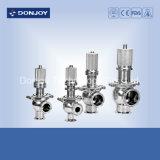 válvula de seguridad neumática embridada sanitaria 304/316L con la junta de EPDM