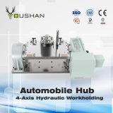 Dispositivo elétrico hidráulico de Workholding do cubo do automóvel com centro de Doosan Mahcining