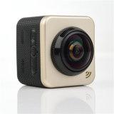 De Kubus van de Videocamera van sporten 360s met H. 264 en WiFi
