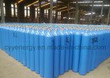 Cylindre de gaz à haute pression d'argon d'azote de l'oxygène