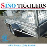 12X6 OEM 완전히 용접된 세로로 연결되는 ATV 상자 트레일러