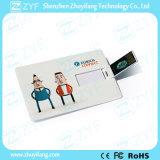 Изготовленный на заказ привод USB кредитной карточки 8GB печати полного цвета (ZYF1825)