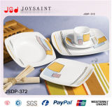Insieme di pranzo quadrato di vendita caldo (JSD116-S011)