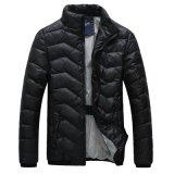 Зимы теплая напольная одежд куртка вниз вскользь для людей