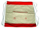 Saco orgânico relativo à promoção do algodão da trouxa do saco de Drawstring do algodão