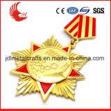 2016 medaglie militari su ordinazione in lega di zinco arrivo caldo di vendita di nuovo
