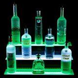 Étalage acrylique d'opérations avec Lightbox pour le vin s'introduisant dans les barres, Plinth Point of Sale d'étalage