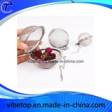 Steel inoxidable Mesh Tea Ball Mesh con Chain (TB-V016)