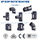 20 a 630 mm de electrofusión hPDE Pipe Tee montaje