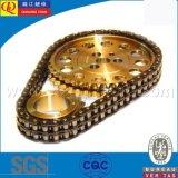 chaîne de rouleau de double de joint circulaire de la qualité 06f
