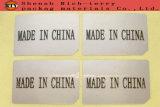 Etiqueta engomada de papel movible, escrituras de la etiqueta del espacio en blanco