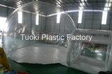Dômes transparents gonflables gelés, tentes en plastique esquimaudes (RC-009)