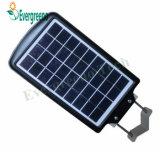 Solareinteiliges Solar-LED Yard-Licht der straßenlaterne-6W