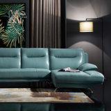 Il sofà di cuoio blu ha impostato con il piedino del bicromato di potassio (831)