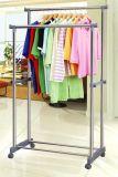 Gross-Rohr Edelstahl-Doppelt-Rod-Kleidung-Aufhänger