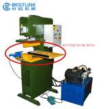 切手自動販売機をリサイクルするMutifuctionalの油圧石造りの残り