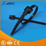 Il tipo di Releaseable ha coperto la fascetta ferma-cavo dell'acciaio inossidabile