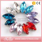Großhandelskleid-Zubehör-Fantasie nähen auf SteinkristallglasRhinestone
