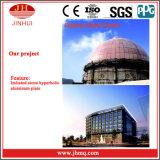 Precio de aluminio de la pared de cortina de la capa de PVDF/Powder para los edificios (Jh158)