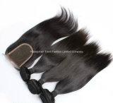cabelo Kinky do Asian do volume #1b do cabelo humano da onda 8A