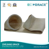 Specifica del filtro a sacco di PTFE Needled costata per le piante del cemento