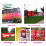 Im Freien Advertizing Custom Vinyl PVC Banner Digital Printing mit Eyelet