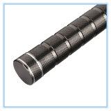 Torche imperméable à l'eau rechargeable en aluminium de long terme de lampe-torche
