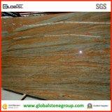 Granit en soie cru indien normal pour des dessus de vanité d'hôtel