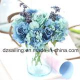 Flor artificial del ramo de Rose, del Hydrangea y de la baya para la Hogar-Decoración (SF14526)