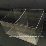 Snacks / caramelo transparente del rectángulo del estante de plástico para el supermercado minorista Shop (HJ-1)