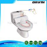 Wegwerfbarer einteiliger Weiche-Plastikabschluss-automatische Toiletten-Sitzabdeckung