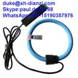 Sonde actuelle flexible à C.A. de détecteur actuel triphasé de corde