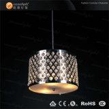 QuerkristallEdelstahl-Rand-Leuchter Om8863