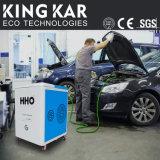 Etiqueta engomada del coche del vinilo de la fibra del carbón del generador 4D del oxígeno del hidrógeno