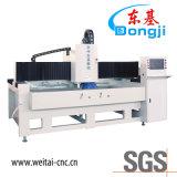3 측 CNC 특별한 모양 유리제 가장자리 비분쇄기