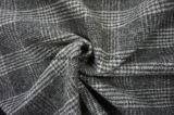 Tessuto delle lane in plaid con Black&White
