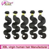 Prolongements non-traités normaux de cheveux humains des cheveux 100 de Vierge