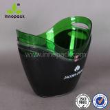 8개 리터 승진 도매를 위한 플라스틱 LED 얼음 양동이 또는 포도주 물통