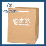 Bolsa de papel de lujo de 2017 aduanas para el paño y las compras (precio de venta de la fábrica) (DM-GPBB-046)