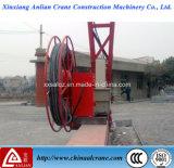 Tambour de câble électrique utilisé par grue
