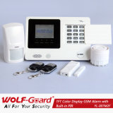 Sistema dell'impianto antifurto di obbligazione domestica di GSM con lo schermo di colore